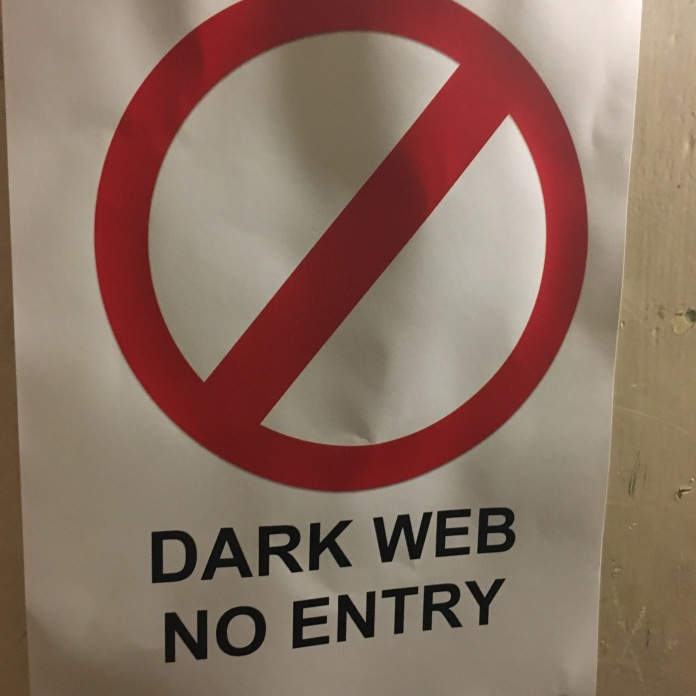 We really did go through the Dark Web. Grim.